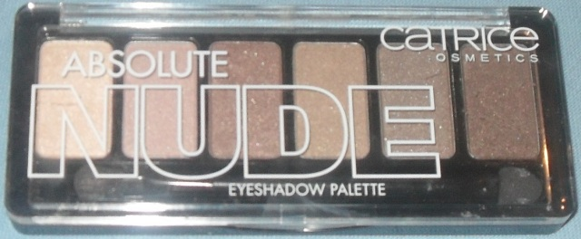 Palette catrice absolute nude face