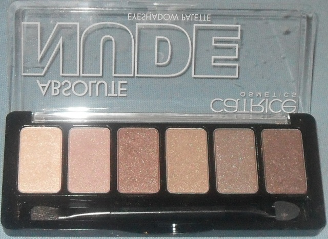 Palette catrice absolute nude ouverte