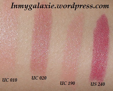 1ers ral catrice swatches
