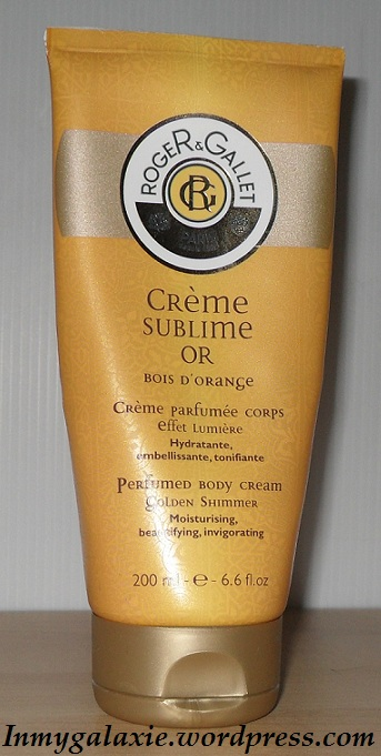 creme sublime or fermée