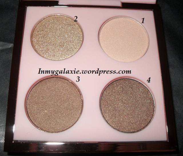 palettes rihanna her cocoa teintes