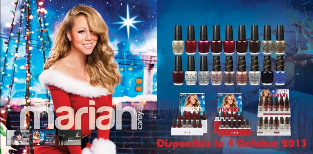 collection mariah carey OPI noel