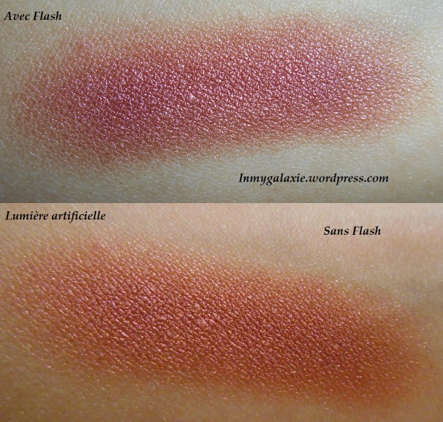 fard mac cranberry swatch