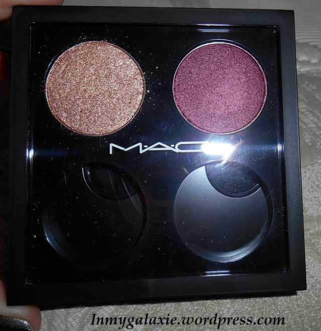 fard mac honey lust et cranberry boite