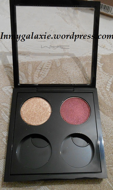 fard mac honey lust et cranberry