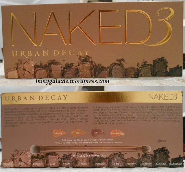 naked 3 packaging carton