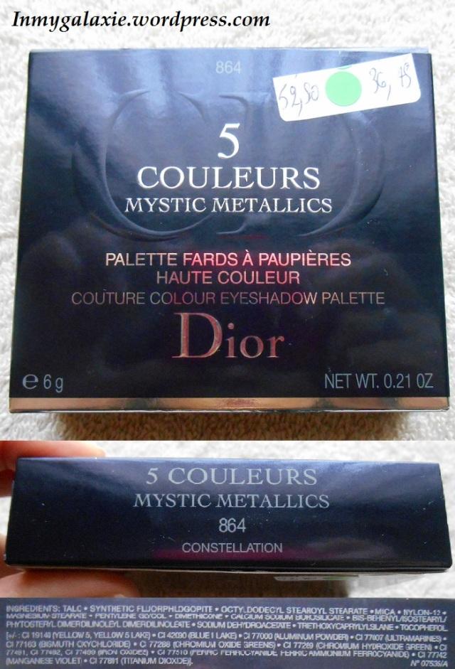 palete dior mystic metallic pack compo
