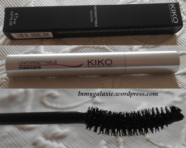 haul kiko 14.04.14 mascara