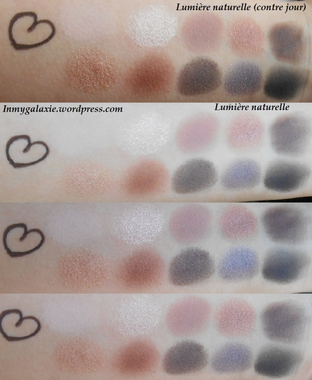 palette stila swatches