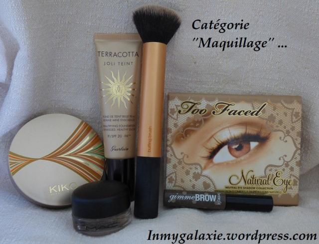favoris été 2014 maquillage